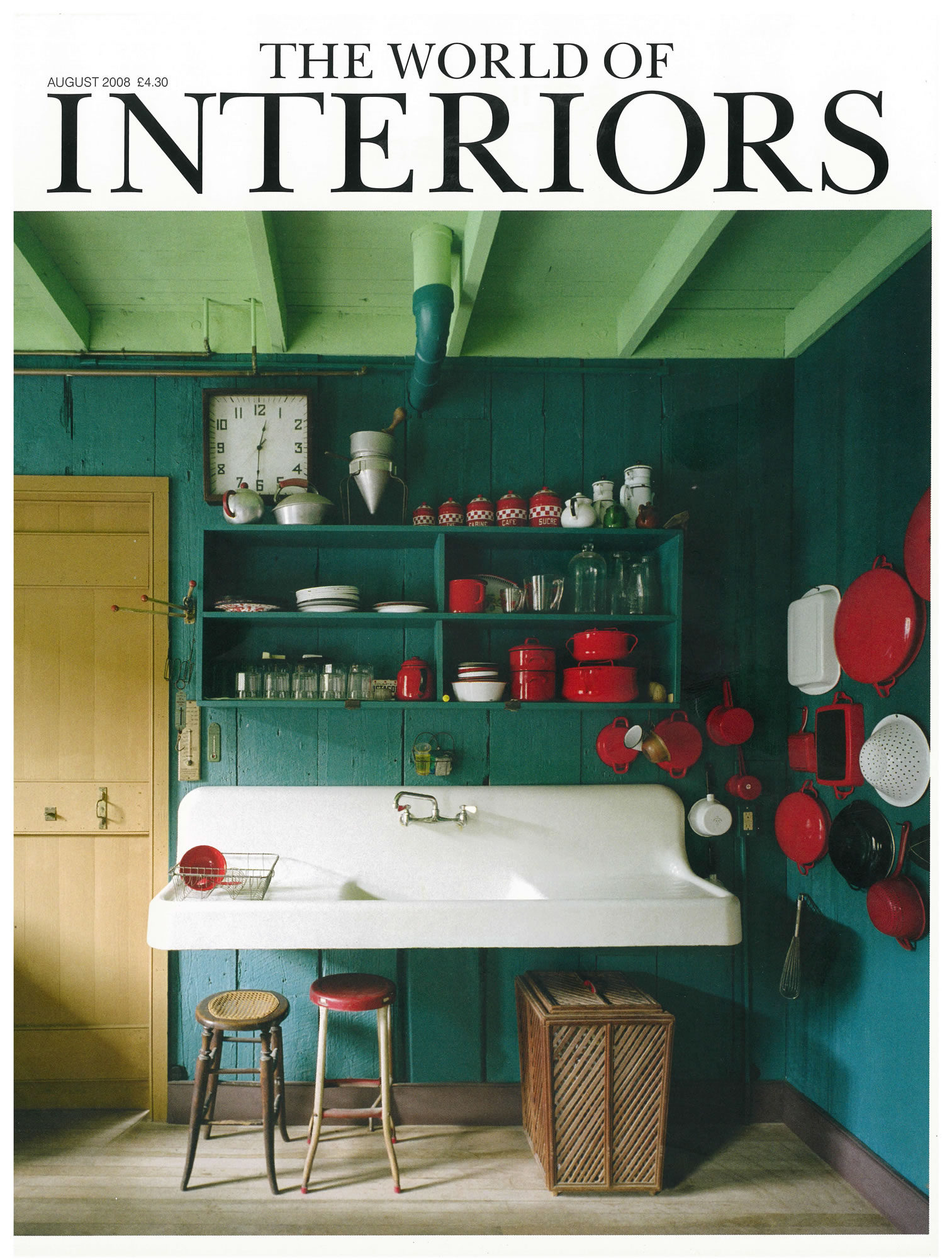The Interiors Of This Modern Mexican House Open To: The World Of Interiors - August 2008