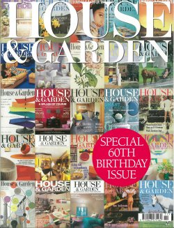 House & Garden - FP November 2007, 60th Birthday Issue