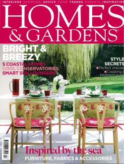 Homes & Gardens FP July 2007