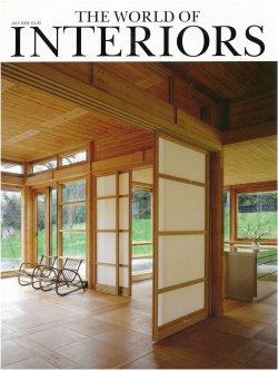The World of Interiors FP July 2009